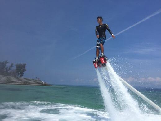 フライボード 沖縄