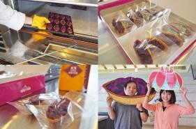 御菓子御殿恩納村店で紅いもタルトの手作り体験をしてみた♪