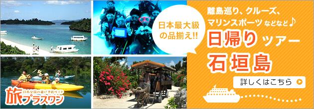 石垣島のオプションなら旅プラスワン