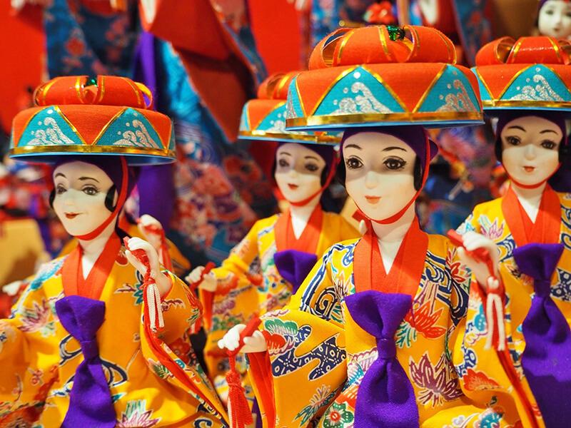 沖縄歴史民族資料館 人形たち
