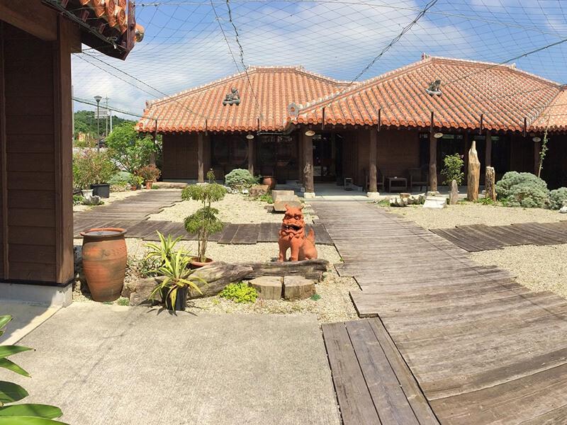 沖縄歴史民族資料館 中庭エリア