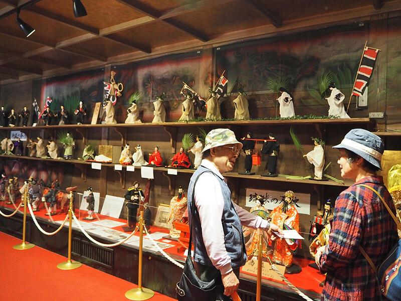 沖縄歴史民族資料館 観光客