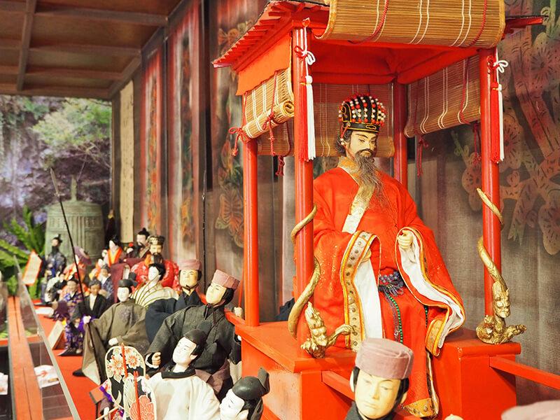 沖縄歴史民族資料館 琉球創作人形