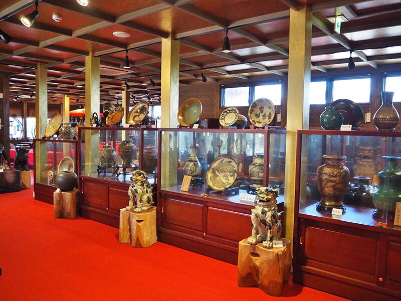 沖縄歴史民族資料館 陶芸エリア