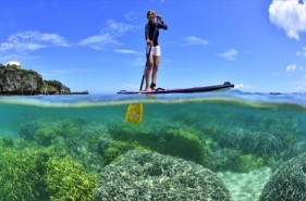 【沖縄本島】SUPで旅する南の島!海上でスイスイ散歩♪
