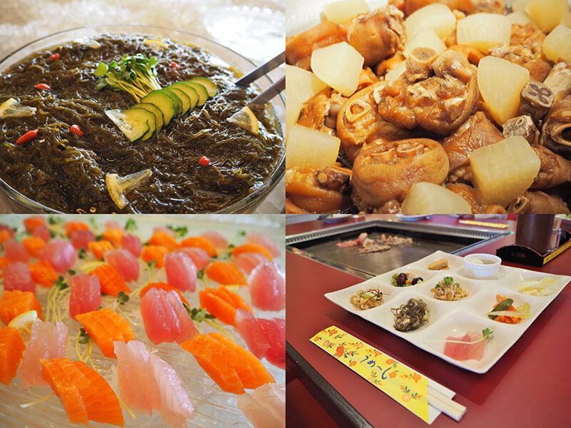 琉球ビュッフェ キッチンやんばる 料理一例