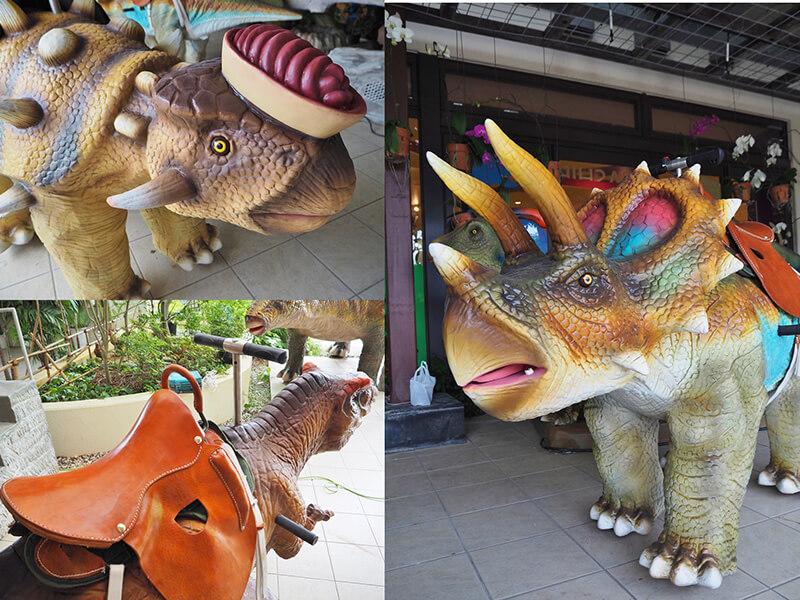DINO恐竜PARK やんばる亜熱帯の森 恐竜たち