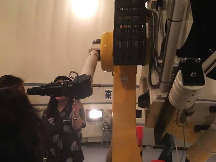 在Haimurubushi望遠鏡天文觀測