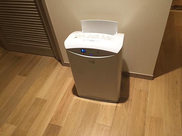 カフーリゾート アネックス棟 空気清浄機