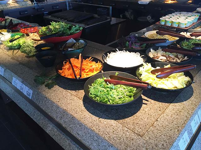 琉球BBQ Blue 鍋の野菜