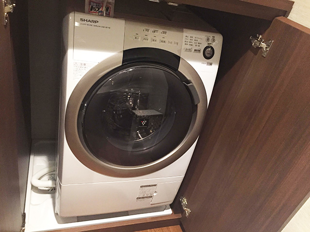 カフーリゾート アネックス棟 全自動洗濯乾燥機