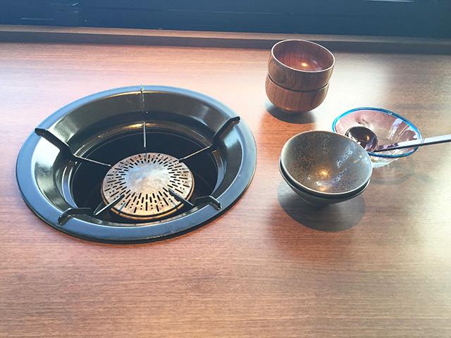 琉球BBQ Blue コンロ