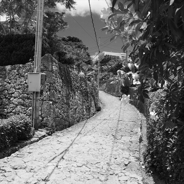 首里金城町の石畳