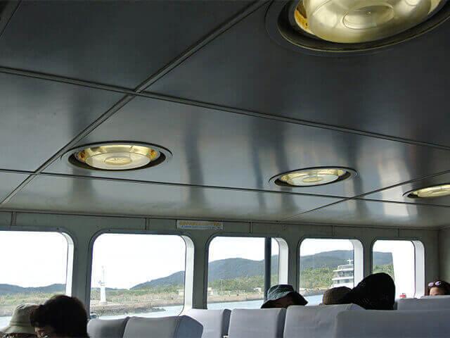 大原港発の高速船