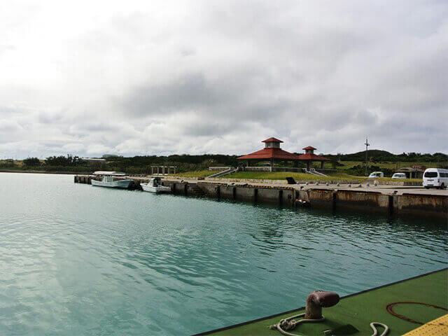 小浜島 フェリー乗り場 外観