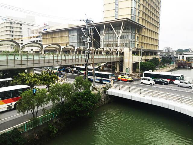 旭橋駅 東口