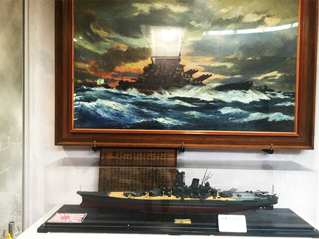 旧海軍司令部壕資料館 入口