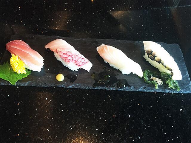 県産魚の食べ比べ