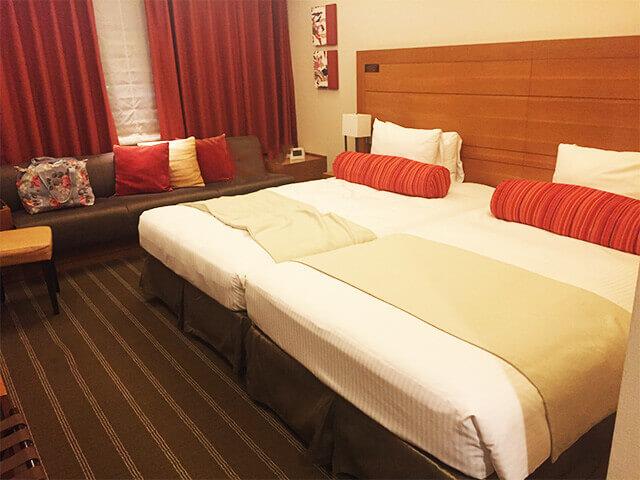 沖縄都ホテル パティオツイン