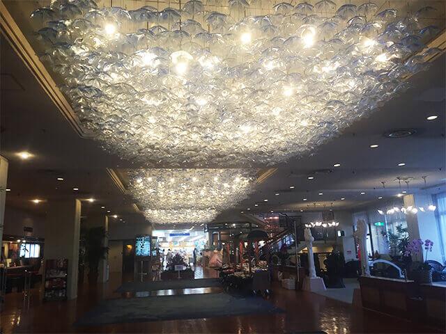 沖縄都ホテル フロント