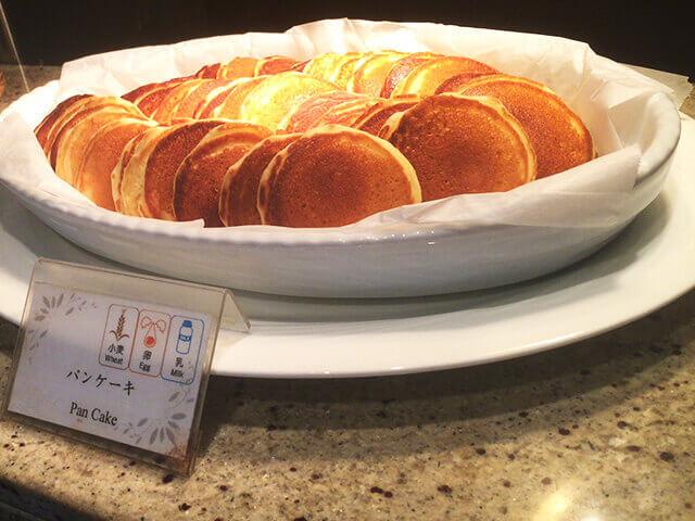 沖縄都ホテル アバンセ パンケーキ
