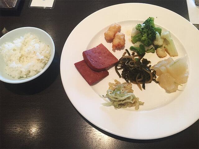 沖縄都ホテル アバンセ 和食