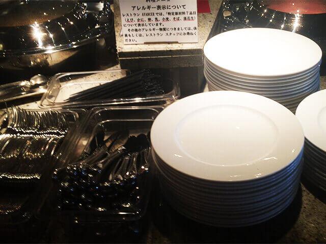 沖縄都ホテル 食器類