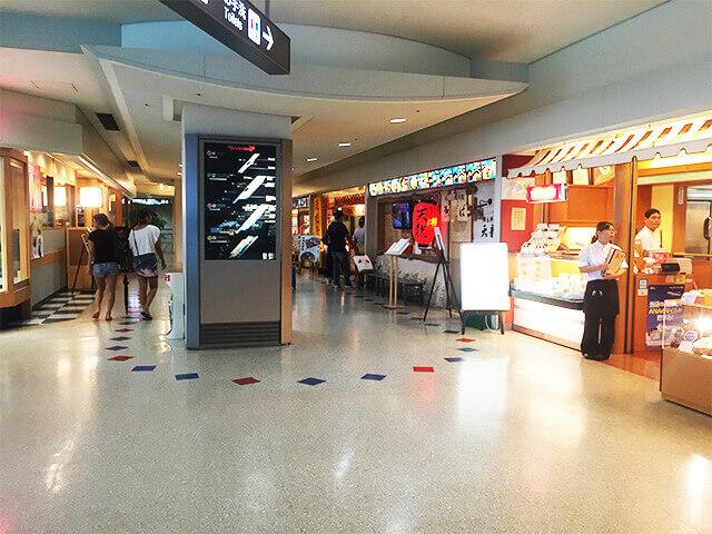那覇空港 4階レストランエリア