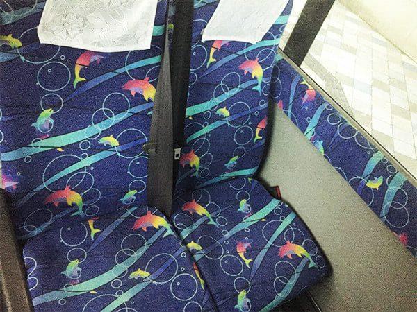那覇バス 座席