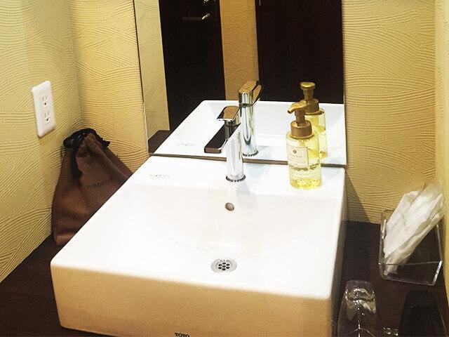那覇セントラルホテル 洗面台