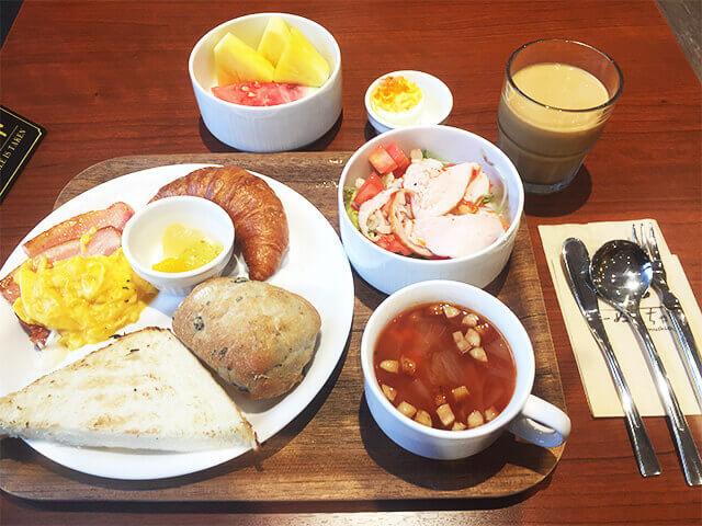 那覇セントラルホテル 朝食