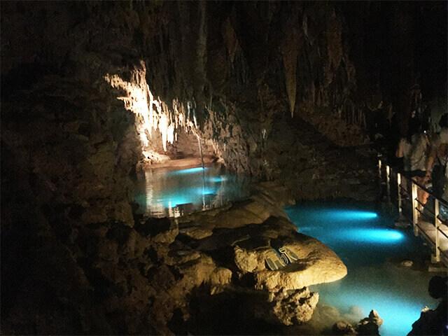 玉泉洞 中の様子6
