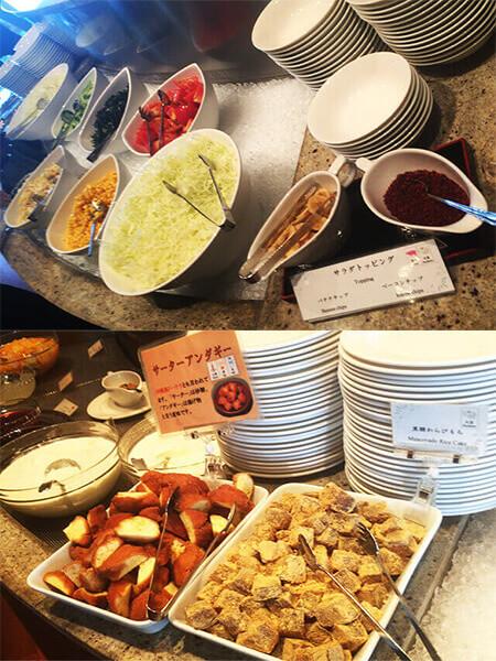沖縄都ホテル サラダ&デザート