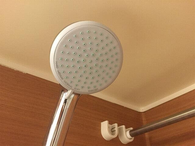 沖縄都ホテル パティオツイン シャワー