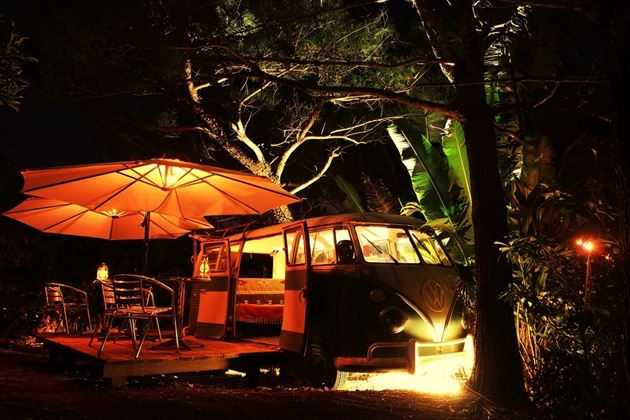 夜の観光農園「Bar Live Free」外観イメージ