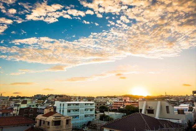 沖縄の天気イメージ