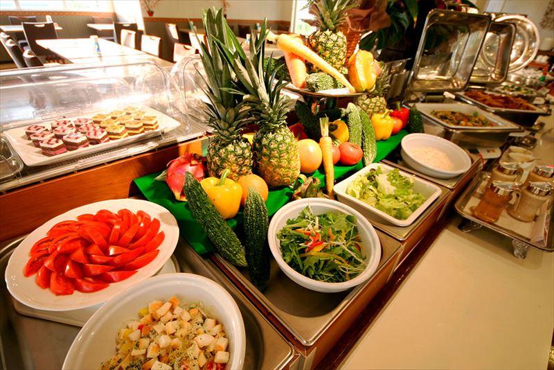 南の美ら花ホテルミヤヒラ 朝食ブッフェイメージ