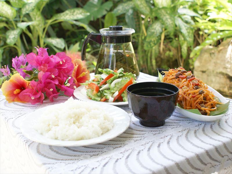 花と緑の宿みずほ 朝食イメージ