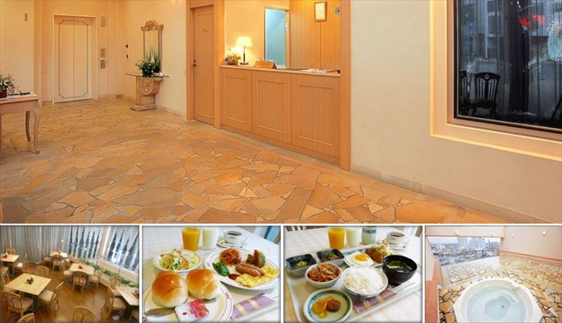 ホテルベルハーモニー石垣島 フロント&朝食イメージ