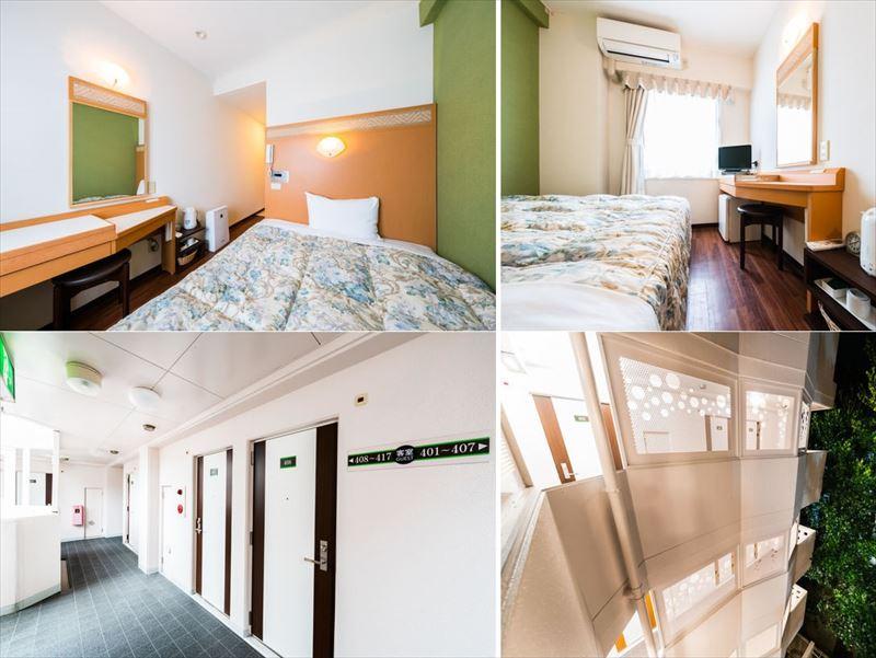 スーパーホテル石垣島 客室イメージ