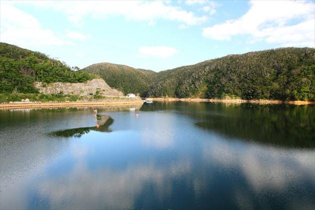 本島北部のダム