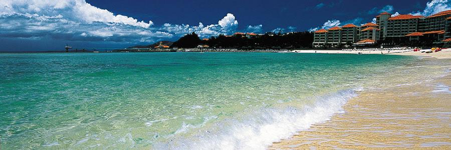 沖縄マリンスポーツメニューが豊富なホテルザ・ブセナテラス