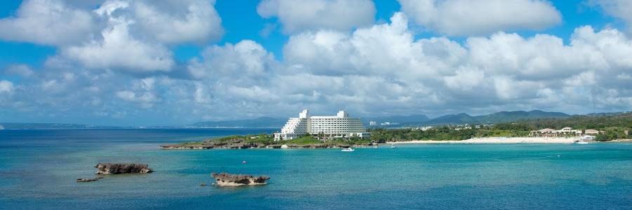 沖縄マリンスポーツメニューが豊富なホテルANAインターコンチネンタル万座ビーチリゾート