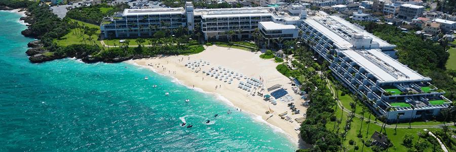 沖縄マリンスポーツメニューが豊富なホテルムーンビーチ