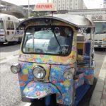 トゥクトゥクで沖縄ドライブ!対向車線からの熱視線に苦笑い