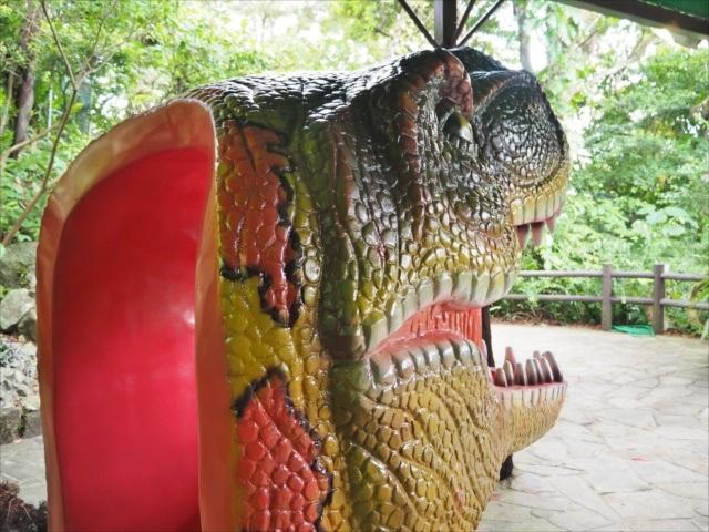 DINO恐竜PARKやんばる亜熱帯の森顔ハメ