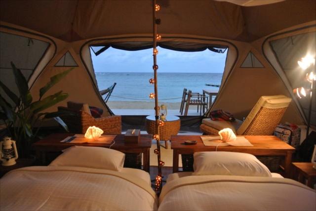 かりゆしビーチリゾートオーシャンスパグランピング