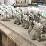 沖縄やちむん通りの老舗窯元・育陶園で工房見学・陶芸体験してきました