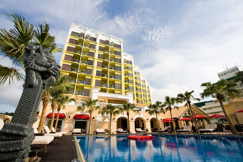 Okinawa Spa Resort EXES 外観