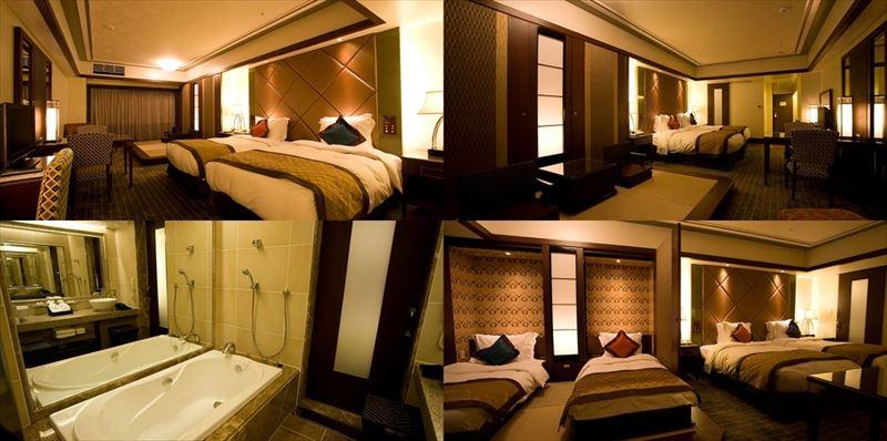 Okinawa Spa Resort EXES 客室